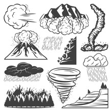 Vintage Natural Disasters Coll...