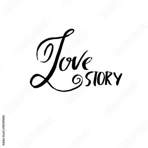 Love story Canvas Print