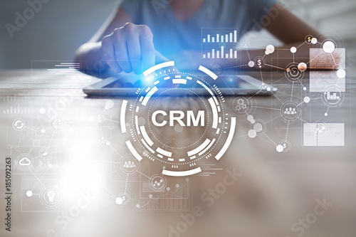 Crm Customer Relationship Management Concept Customer Service And