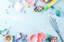 Sweet Baking Concept For Easte...