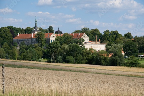 Photo  Castle Uhercice in the Southern Moravia, Czech republic