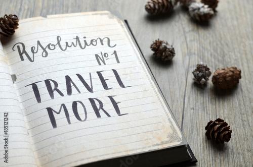 Resolution No. 1 TRAVEL MORE