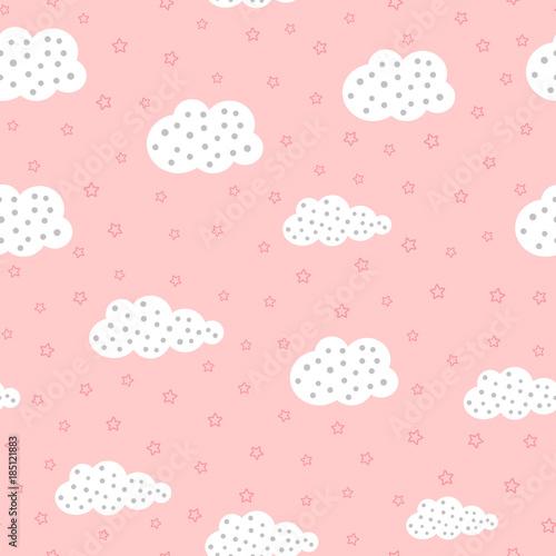 sliczny-bezszwowy-wzor-dla-dzieci-z-chmurami-i-gwiazdami