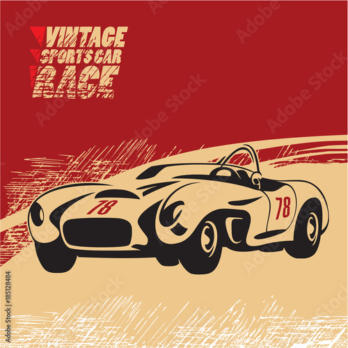 Obraz oldtimer  vintage-sports-car-race