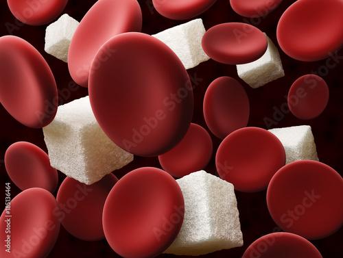 Fotografía  Sugar in the blood