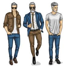 Vector Man Models