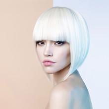 Fashion Beautiful Blonde With ...