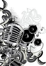 Music Design - Microphone, Spe...