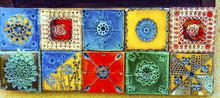 Colorful Ceramic Tiles Souveni...