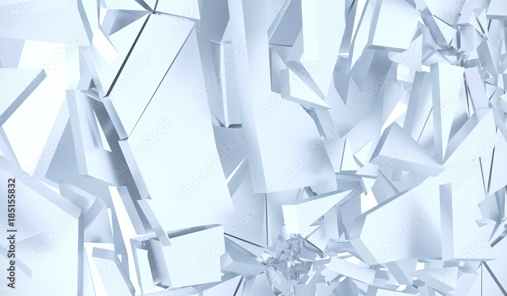 3D Rendering Abstrakta Krakingowy Nawierzchniowy Tło <span>plik: #185155832 | autor: IM_VISUALS</span>