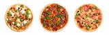 Italian pizza with mozzarella - 185159688