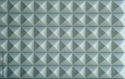 Fotografia, Obraz  The pattern of the soundproof panel of polyurethane foam background