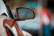 Sportwagen Rückspiegel -  Seitenspiegel - Close Up