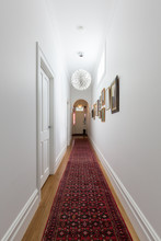 Grand Hallway In A Renovated V...