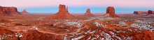 Monument Valley Covered With S...