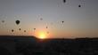 Cappadocia - Hot Air Balloons - Sunset