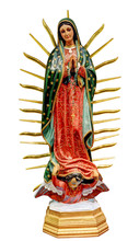 Our Lady Of Guadalupe Statue I...
