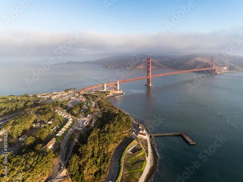 Vászonkép  San Francisco Golden Gate Bridge