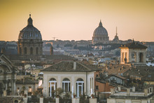 A Typical View Of Rome
