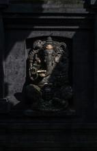 Stone Statue Of Ganesha In Bali