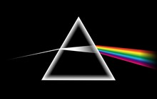 Rainbow Light Prism. Optical G...