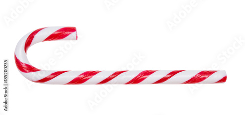 Fotografering Candy cane isolated on white background