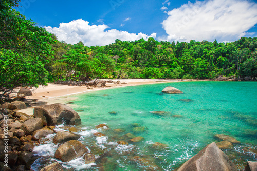 Photo  Sandy beach, Khao Lak, Thailand