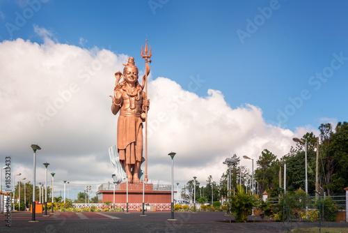 Amazing Shiva statue Mauritius