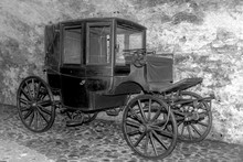 Carriage Waiting For Its Horses