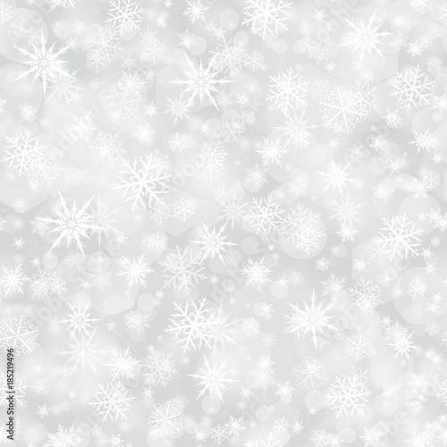 Stoffe zum Nähen Schneeflocken Musterdesign Hintergrund Vektor