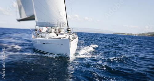 Fotografía Luxury yachts at Sailing regatta
