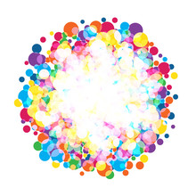 Colorful  Bright Circles