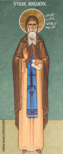 St. Benedict Canvas Print