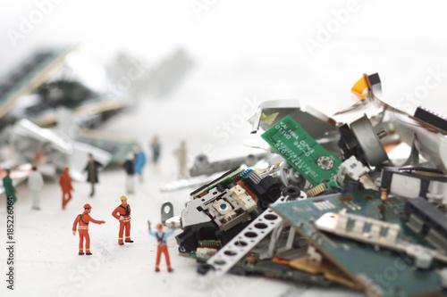 Fotomural 災害と残骸