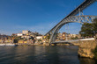 Panoramic view of colorful traditional houses of Porto, Portugal, Iberian Peninsula, Europe