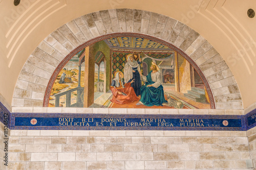 Mary, Martha and Jesus Wallpaper Mural