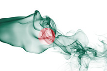 Bangladesh Smoke Flag