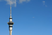 Auckland Sky Tower And Flying ...