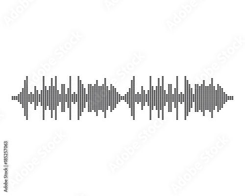 Sound waves illustration - Buy this stock vector and explore
