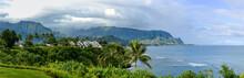 North Shore Of Kauai - Panoram...