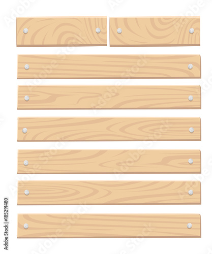 Set of wooden box for vegetables keeping and fruits food crates front view vector illustration isolated on white background