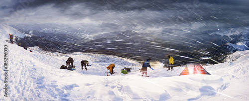 Papiers peints Arctique New Year's Day on Goverla