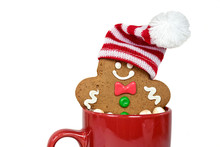 Christmas Gingerbread Man With...