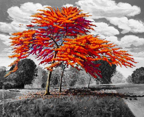 Fototapety stylowe  dekoracyjnosc-one-color