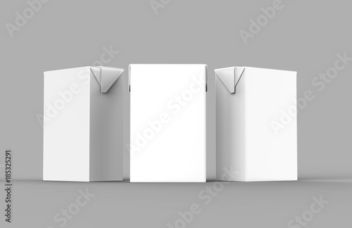 Papel de parede  Blank White Tetra Packet Carton Juice & milk pack with straw White Realistic Rendering for mock up template design
