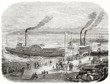 Ancient San Francisco Docks, C...