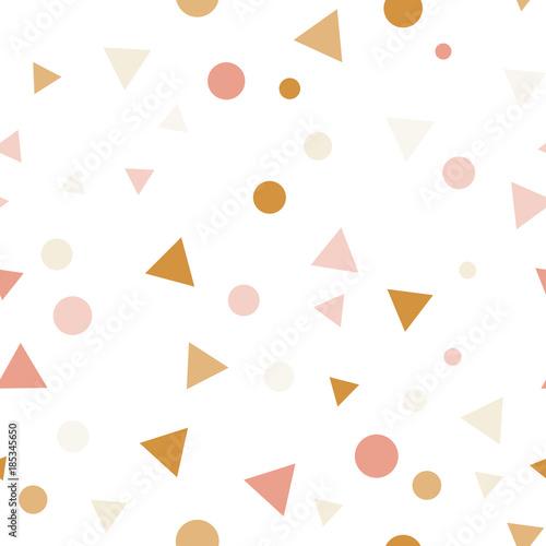 party-uroczystosci-konfetti-trojkaty-i-kropki-wzor