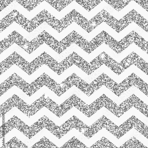 wzor-srebrny-brokat-chevron