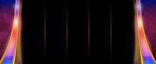 Background For Slots Game. Vector Illustration