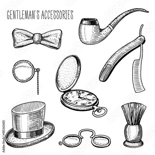 Fototapeta gentleman accessories
